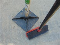 10x10 Tamper + Deck Brush