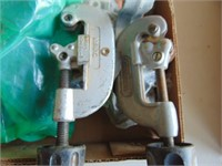 Assorted Plumbing + (2) Pipe Cutters