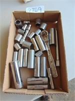 Assorted Craftsman Metric Sockets
