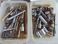Drill Bits, Screwdrivers, + Wrenches