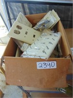 Box of Assorted Wall Plates