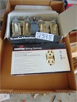 (New) Light Switches + (New) Receptacles