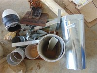 Assorted Metal + Metal Sheeting