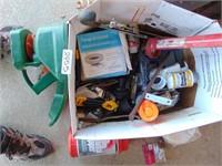 Hack Saw, Caulk Gun, Plumbing Supplies