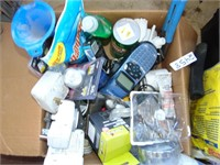 Dymo Machine, Electrical, Soap, Misc.