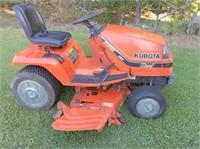 "Kubota Diesel HST G1900 Lawn Mower 48"" cut"