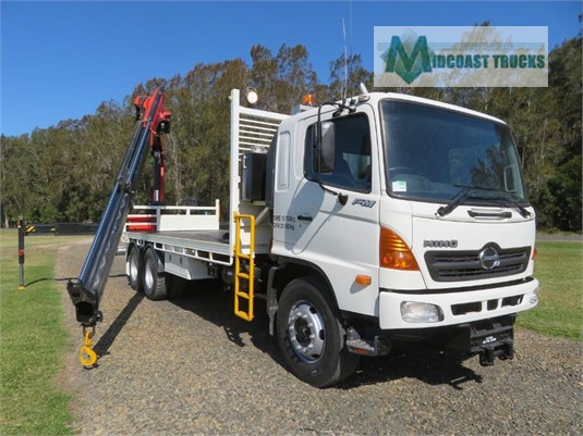 2007 Hino FM2630 Midcoast Trucks - Trucks for Sale