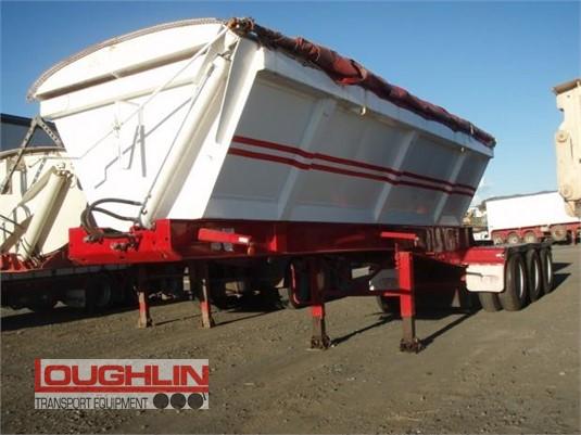 2008 Tristar Tipper Trailer Loughlin Bros Transport Equipment - Trailers for Sale