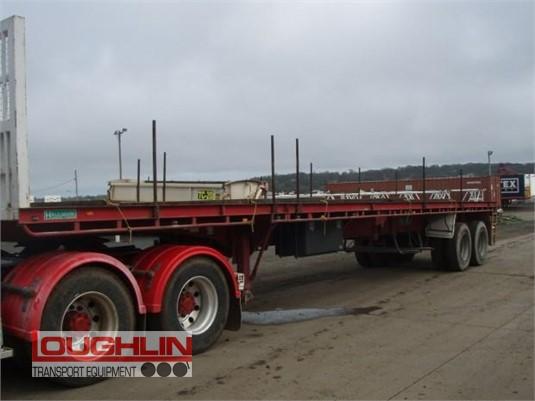 2003 Haulmark Flat Top Trailer Loughlin Bros Transport Equipment - Trailers for Sale