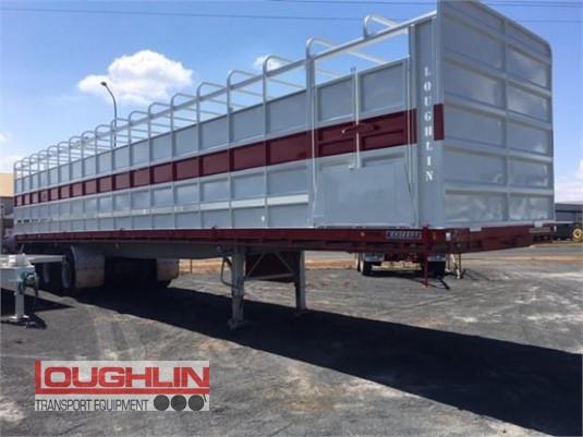 2012 Krueger Flat Top Trailer Loughlin Bros Transport Equipment - Trailers for Sale