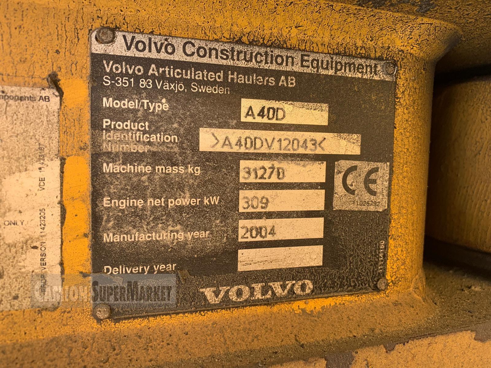 Volvo A40D Usato 2004