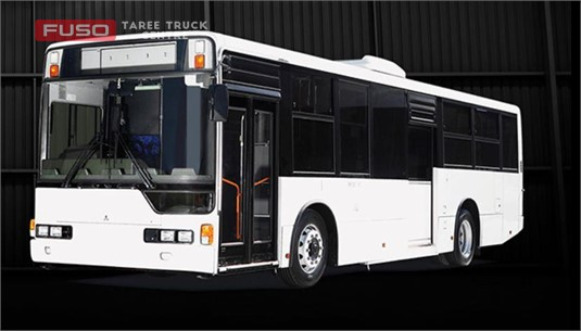 Fuso MP37 City Bus MWB Low Floor 6 sp Auto