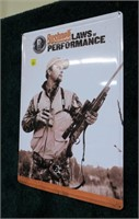 "Metal sign,"" Bushnell Levels of Performance"""