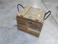 Wooden ammo box for special fireworks