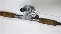 Vintage 6' rod with Shakespeare Model FF reel,