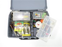 Plano Guide tackle box with contents