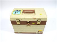 Plano tackle box with lures and contents