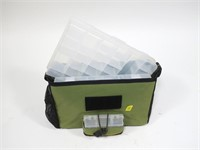Flambeau carry case with plastic lure holders