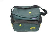 Plano carry case with plastic lure holders with