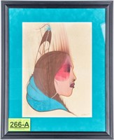 "Beautiful original artwork by artist Ray Darby, ""H"