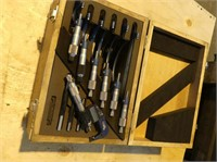 FOWLER OUTSIDE MICROMETERS SET