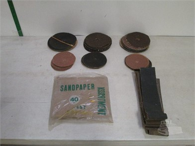 E14 3 Large Lot Of Sandpaper Other Items For Sale In