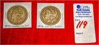 1878 & 1879 Morgan Silver Dollar