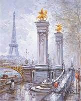 Eiffel Tower Cityscape By Johnny Gaston