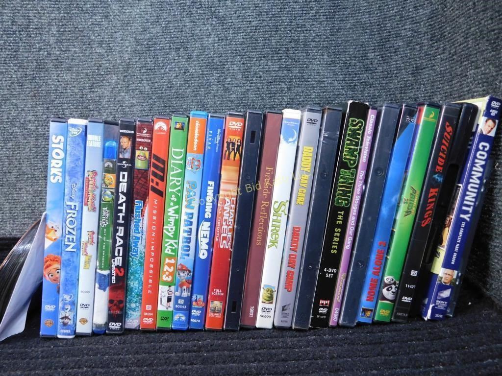 25 Dvd S Variety Childrens Adult Bid Kato