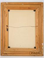 Voja: Framed Portrait of Man, Signed (5)