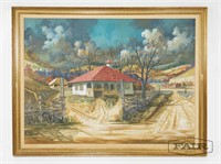 Landscape of Country Home