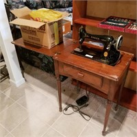Singer Sewing Machine & sewing notions