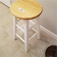 White Legged Stool (wood)
