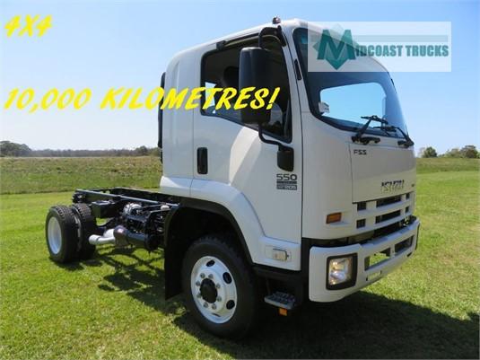 2008 Isuzu FSS 550 4x4 Midcoast Trucks - Trucks for Sale