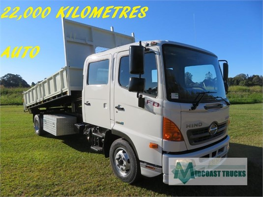 2012 Hino 500 Series 1124 FD Crew Midcoast Trucks - Trucks for Sale