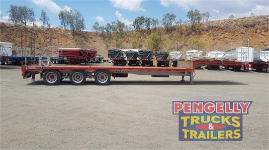 2013 Krueger Drop Deck Trailer Pengelly Truck & Trailer Sales & Service  - Trailers for Sale