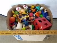 Full Box of Toys