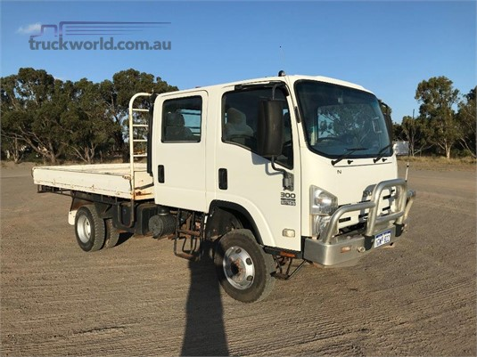 2008 Isuzu NPS 300 4x4 Crew - Trucks for Sale