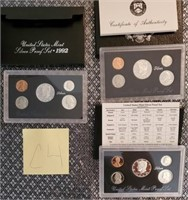 C4 - SILVER PROOF COIN SETS