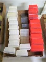 Lot, plastic ammo case