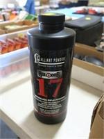 Alliant 17 powder, 1 lb.