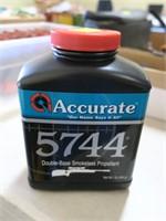 Accurtae 5744 smokless propellant, 1 lb.