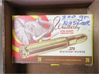 Box Weatherby .378 Weatherby Magnum, 18