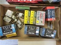 Lot, 5 boxes of 25, 12 Ga. ammo, 2 boxes 12 Ga.