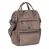 Lug Women's Via Tote Backpack, Walnut Brown, One