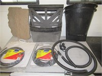 Lot of Assorted Pond Hoses, Fittings, Baskets,