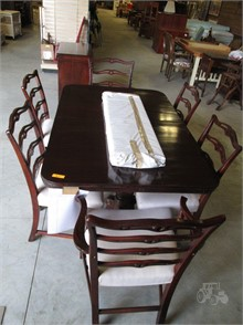 Drexel Dining Room Table W 3 Leaves 6 Chairs Other Items