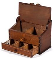 Spice box detail of interior