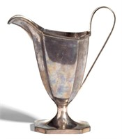 Paul Revere silver cream jug, from the estate collection of Buryl and Nelwyn Kay, McLean, VA