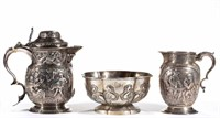 Rare Georgian sterling, from the estate collection of Buryl and Nelwyn Kay, McLean, VA